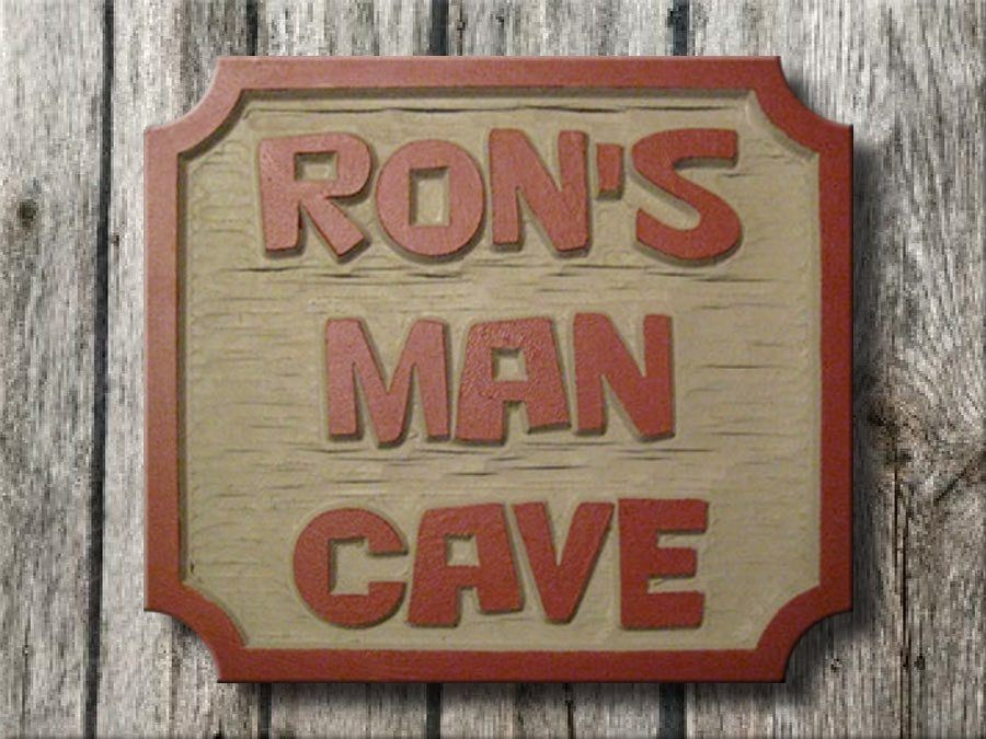 Man Cave Plaques Signs : Man cave signs sports plaques ultimate