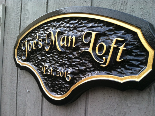 Joes Man Loft with est date sign -iso