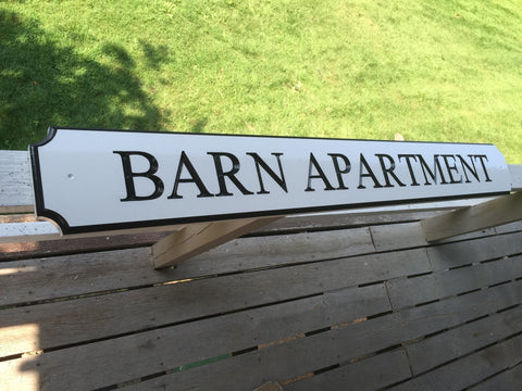 New england style house name signs