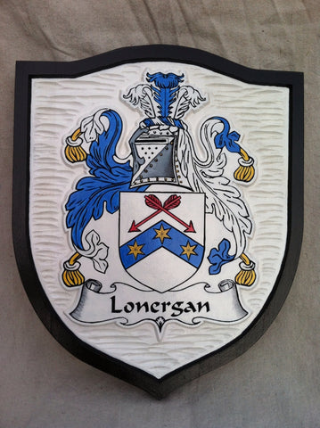 Lonergan family crest sign