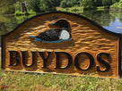 Loon themed Custom Carved Family Name sign - Personalized (LN35) - The Carving Company
