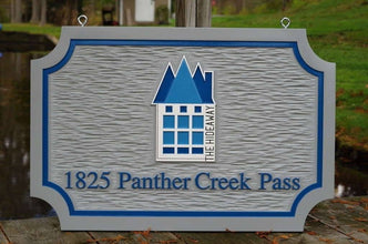 Carved Exterior Dimensional Business Signs / Customize with your Logo (B76) - The Carving Company