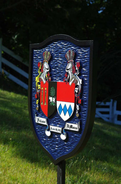 Family crest custom made