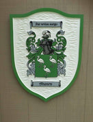 Custom Historic Family Crest Sign - Coat of arms (FC16) - The Carving Company