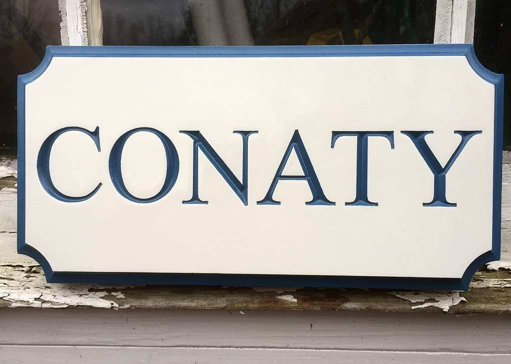 Family Name or Estate Sign Custom Carved (LN29) - The Carving Company