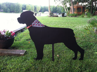 Dog Silhouettes - Yard Decor - Yard Silhouettes - The Carving Company