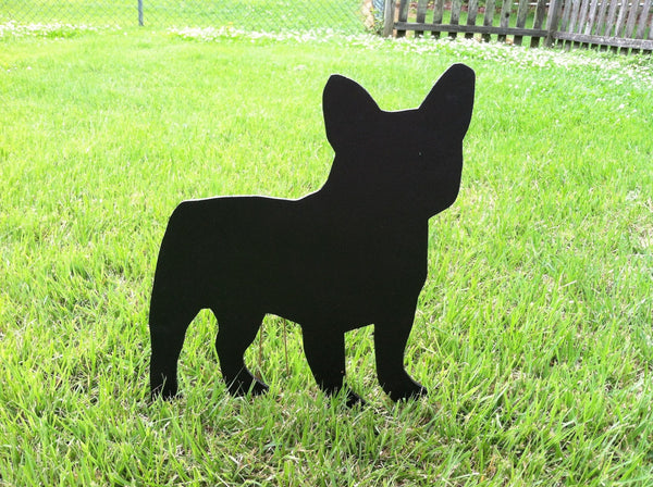 Dog silhouette sign PVC -small