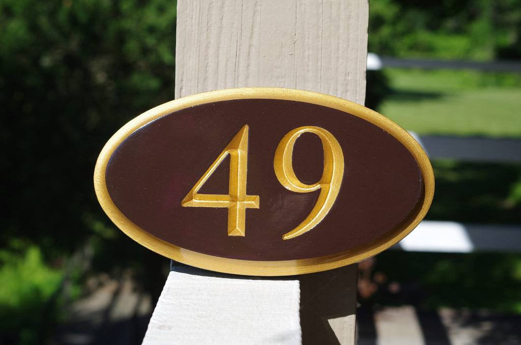 ... Custom Engraved House number Sign - Address Signs made to order (A110)  - The ... e9c6e2d5cd9c