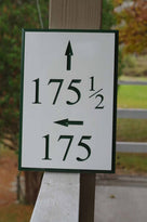 Multiple Numbers for House, Apartments, Condo's, Units with Arrow (A128) - The Carving Company