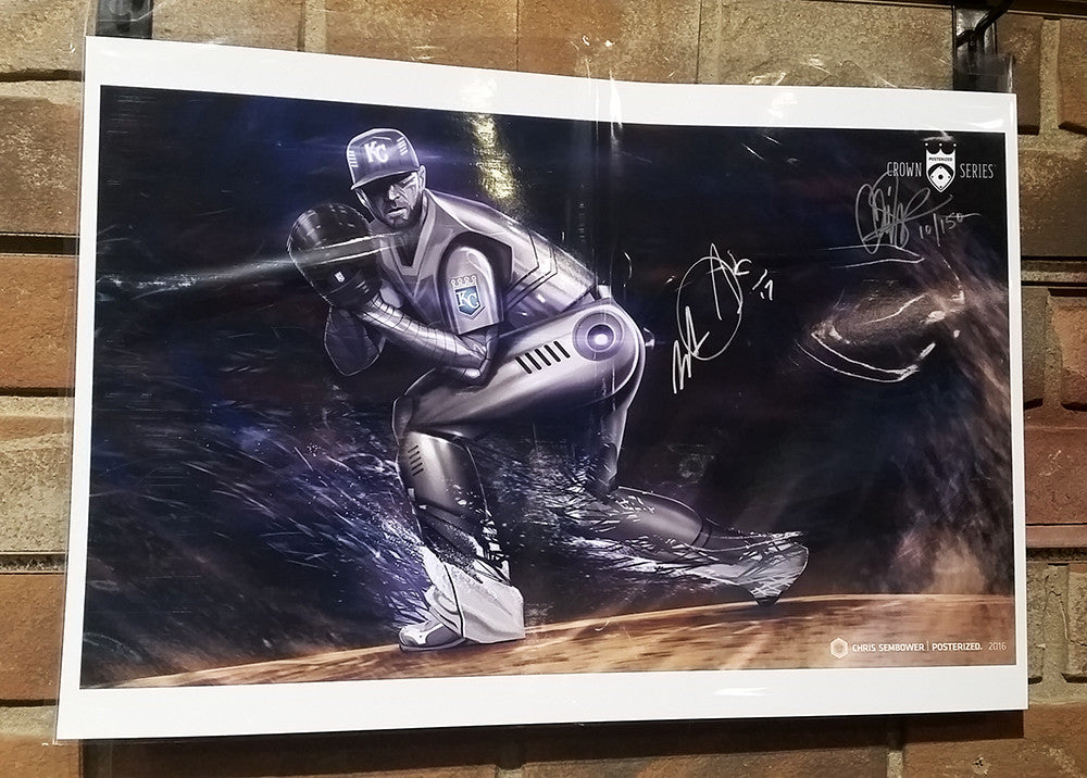 "Cyborg v2.0 - Signed by Wade Davis: 13x19"" Paper Print"