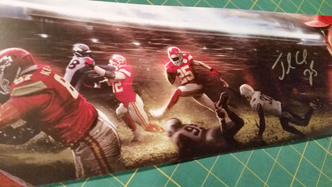 "Signed by Jamaal Charles: 2013 13x19"" Paper Print"