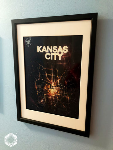 Framed: KC From Space