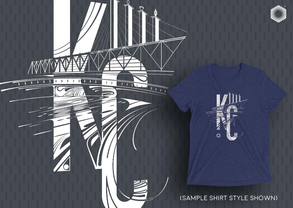 KC Bartle: Mens Triblend Short sleeve t-shirt