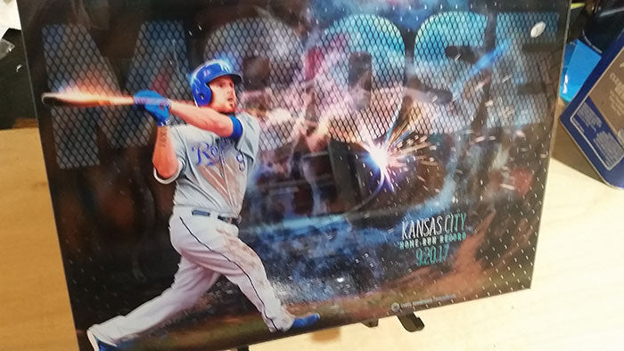 "Home Run Record: 20"" Acrylic Print"