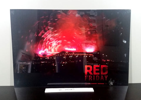 "Red Friday: 30"" Acrylic (Micro-Scratch)"