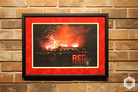 Red Friday: Framed & Matted