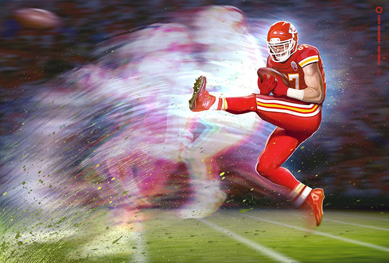 Signed by Travis Kelce: Primetime