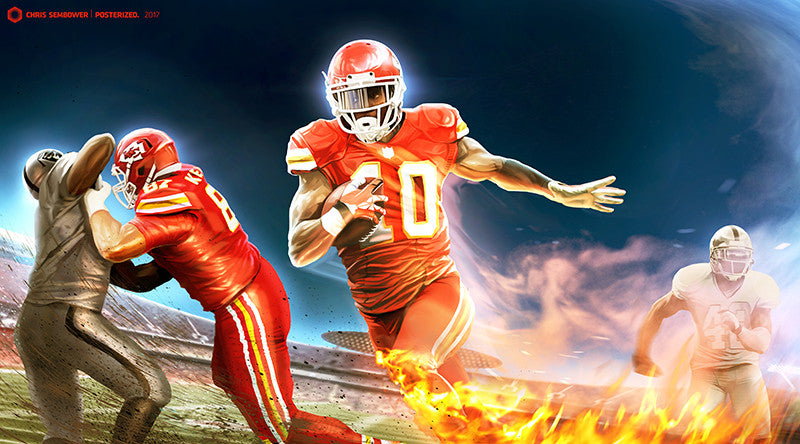 Signed By Tyreek Hill: Afterburner
