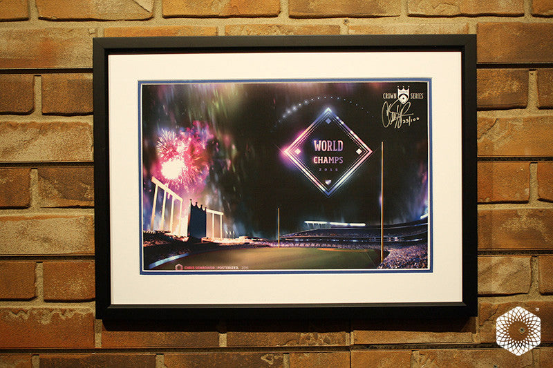 World Champs: Framed & Matted