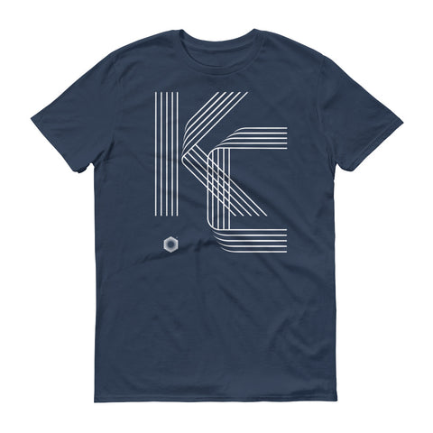 KC Five Line: Mens Short-Sleeve Cotton T-Shirt