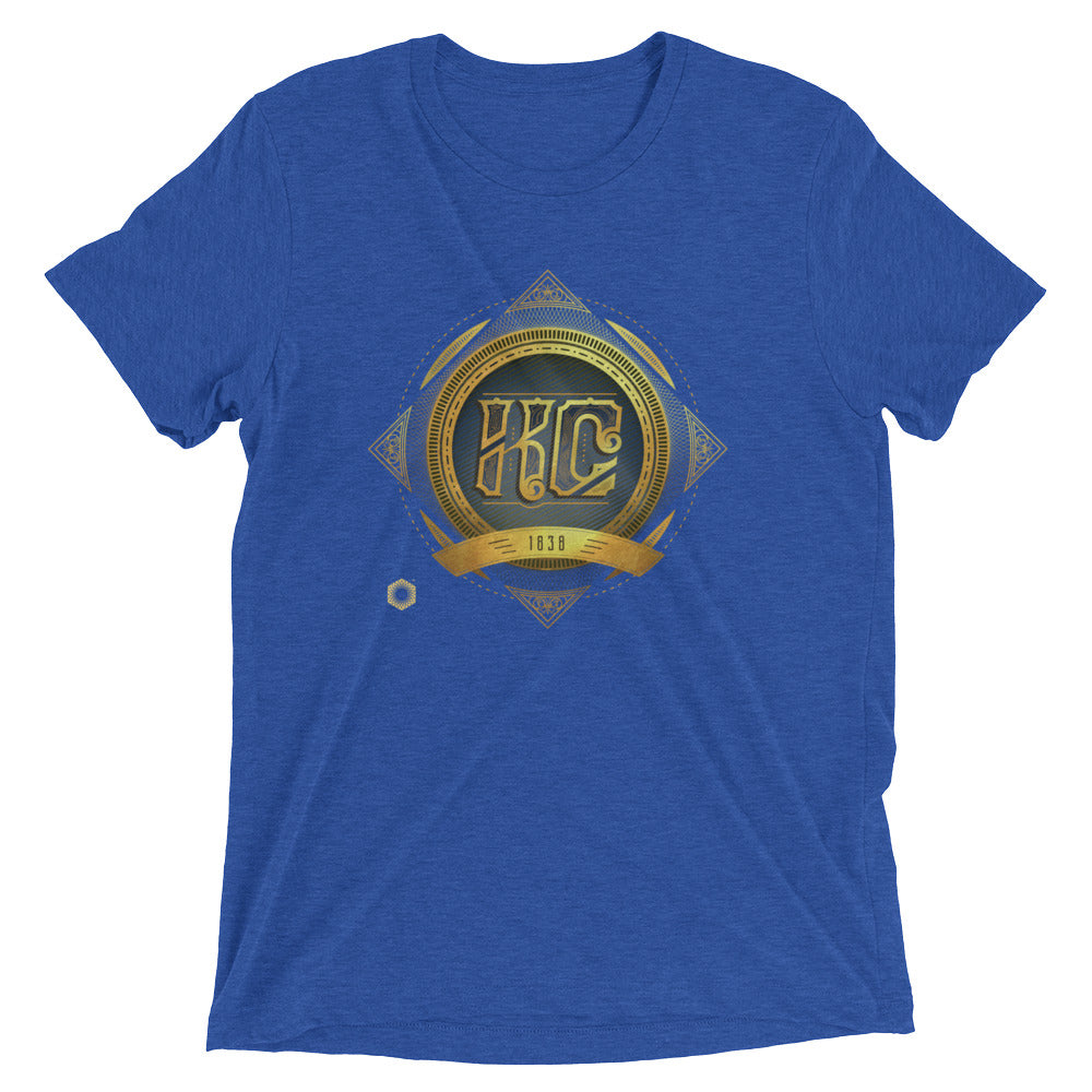 KC Antique: Mens Triblend Short sleeve t-shirt