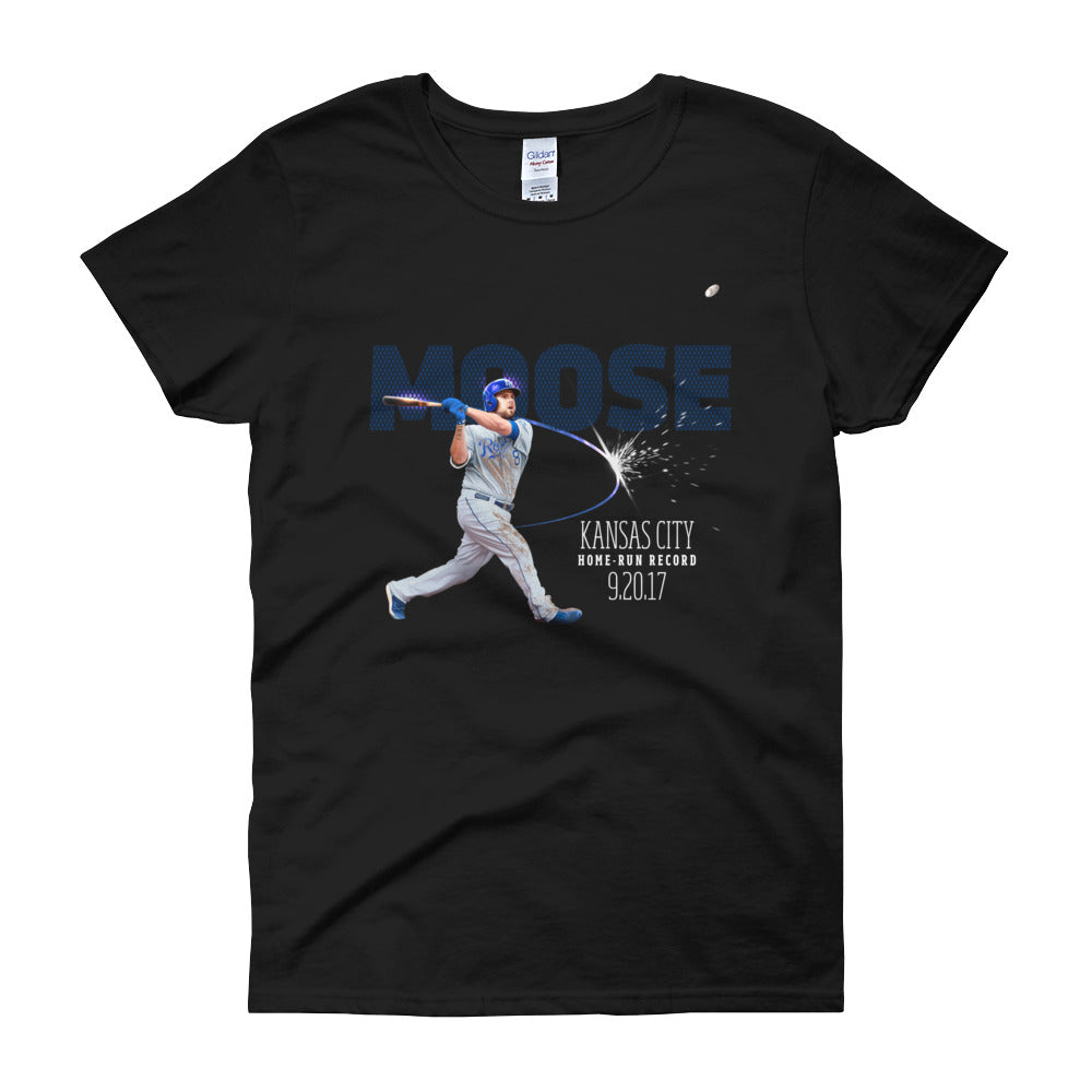 Home Run Record: Limited Edition Ladies Regular Fit Short Sleeve T-shirt