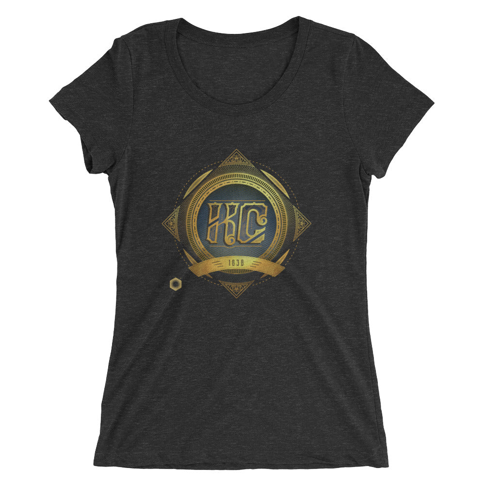 KC Antique: Ladies' Triblend short sleeve t-shirt