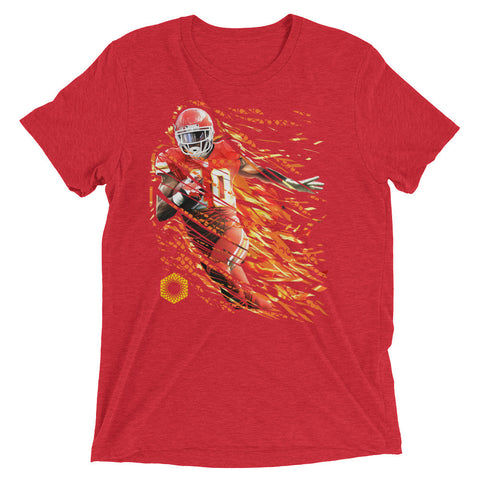Afterburner-X: Limited Edition Tri-Blend Short Sleeve Mens T-shirt