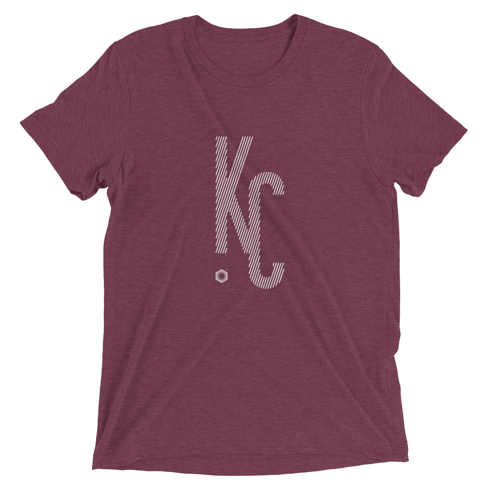 KC Ligature One: Mens Triblend Short sleeve t-shirt