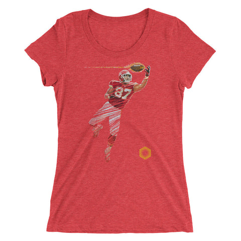 87 Fade: Limited Edition Tri-Blend Ladies' Short Sleeve T-shirt