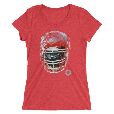 91 Armor: Limited Edition Tri-Blend Ladies Short Sleeve T-shirt