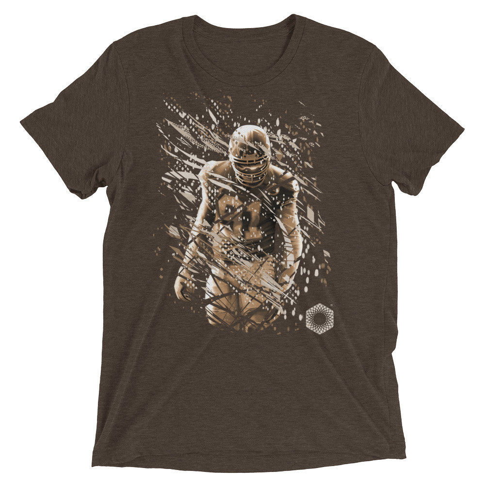 91 Ali: Limited Edition Tri-Blend Mens Short Sleeve T-shirt