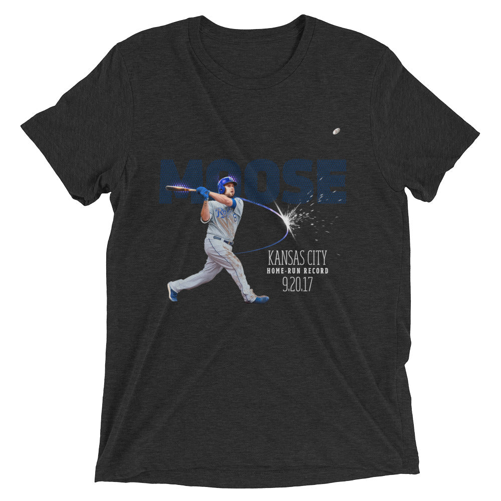 Home Run Record: Limited Edition Mens Form Fit Tri-Blend Short Sleeve T-shirt
