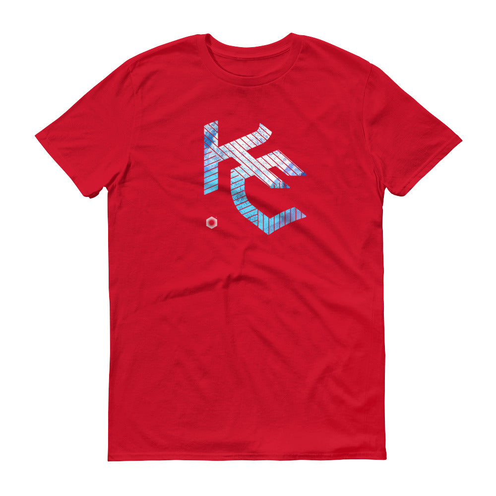KC Gothic (Paint Roll): Short-Sleeve T-Shirt