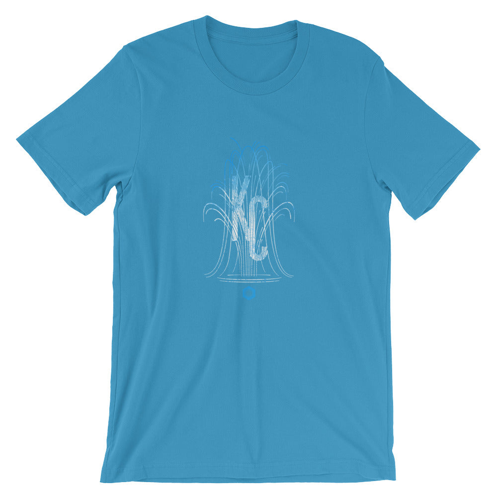 KC Fountain: Short-Sleeve Unisex T-Shirt