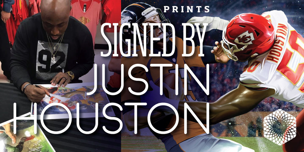 Take Two signed by Justin Houston