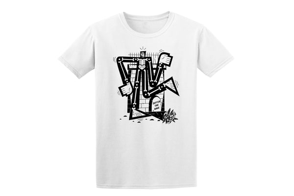 New! Suffer the Rave Skeleton (White)