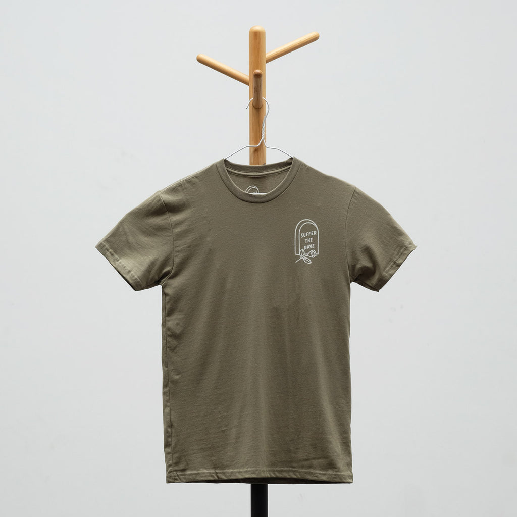 Suffer the Rave - Logo T-Shirt (Olive)