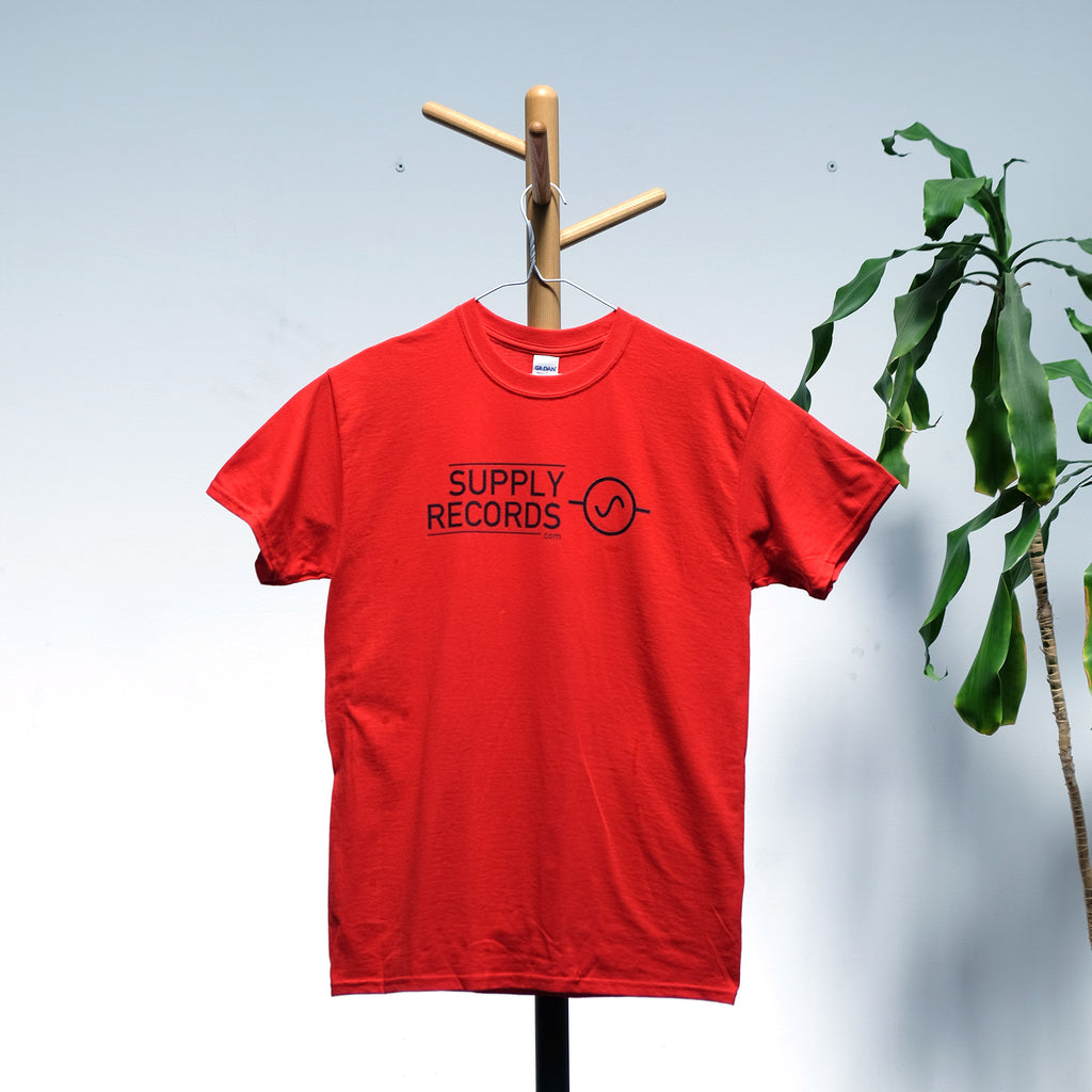 Supply Records T-Shirt (Red)