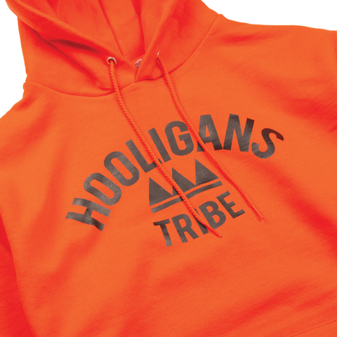 Orange OG Logo Hoody