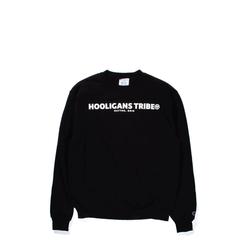 Black Logo Crew Neck