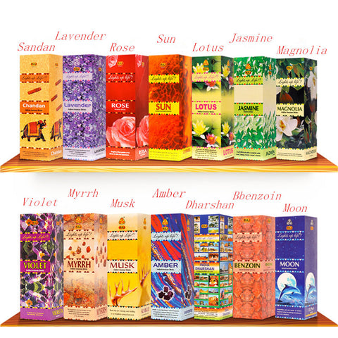 29 Flavors Incense Sticks Mixed