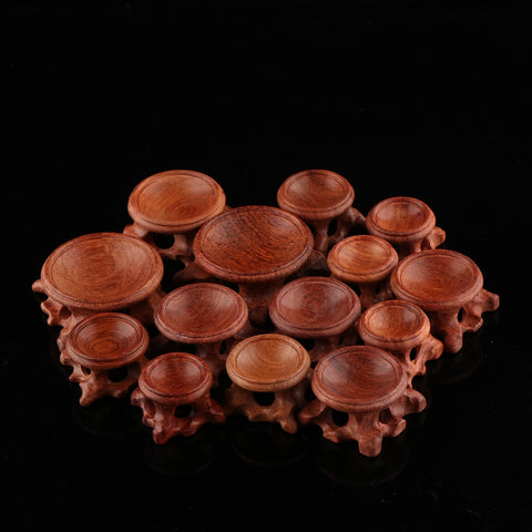 1Pcs Durable Acid Branch Wood Display Stand Base For Crystal Spheres