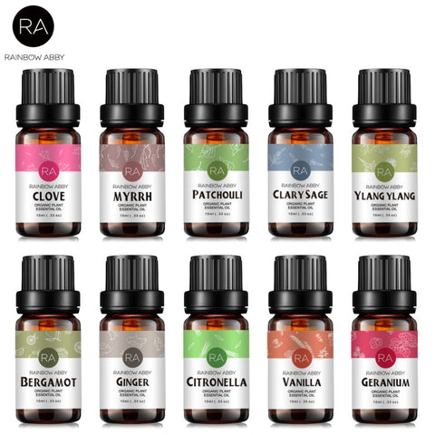 10ml Essential Oils Oil For Aromatherapy Diffusers