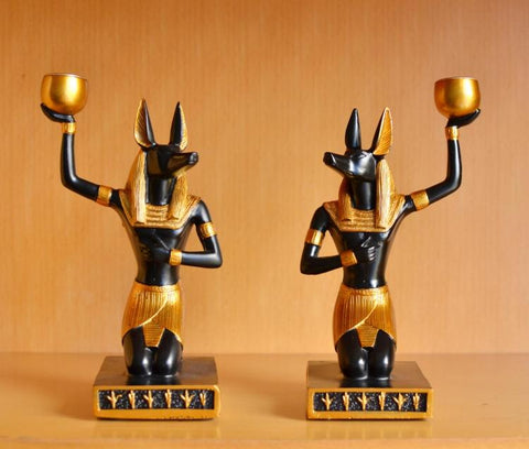 Egyptian Anubis statue desktop