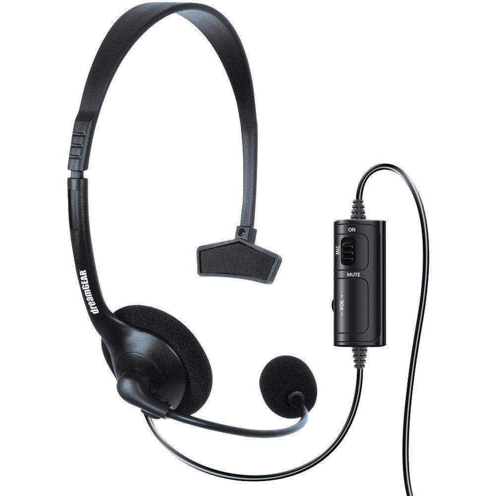 Dreamgear Xbox One Wired Broadcaster Headset