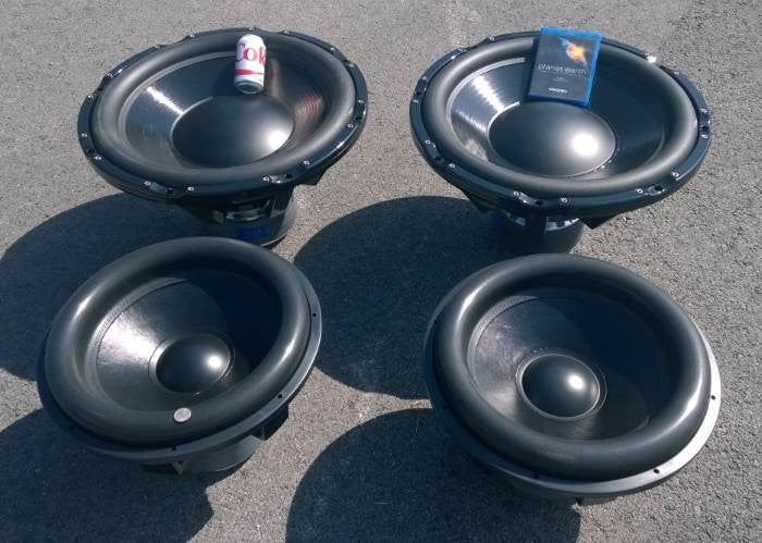 "Our 18"" and 24"" Subwoofer Drivers Tested"