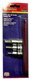 Napa 3 Pc. Hex Bit Brake Caliper Socket Set + 3 Pc. Torx Set