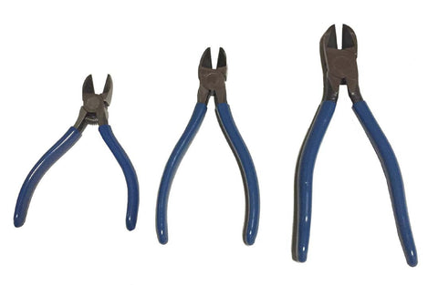 3pc. Diagonal Cutting Pliers Set
