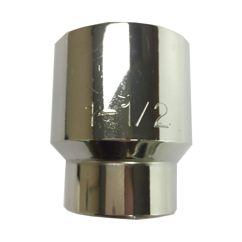 "Napa NH 1248 1-1/2"" 3/4"" Dr. Chrome Jumbo Socket"
